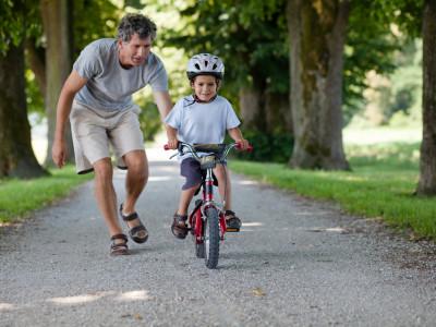子供に自転車の乗り方を教えるコツ!